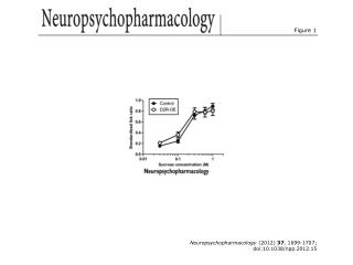 Neuropsychopharmacology  (2012)  37 , 1699-1707; doi:10.1038/npp.2012.15