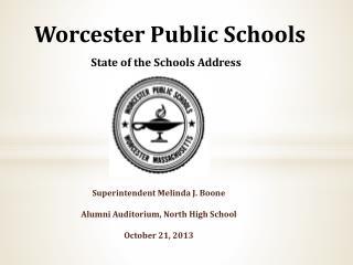 Worcester Public Schools