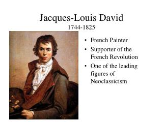 Jacques-Louis David 1744-1825