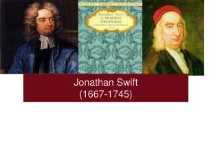 Jonathan Swift (1667-1745)