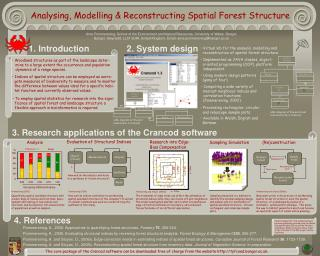 Analysing, Modelling & Reconstructing Spatial Forest Structure