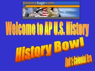 History Bowl