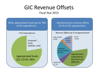 GIC Revenue Offsets Fiscal Year 2013