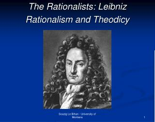 The Rationalists: Leibniz Rationalism and Theodicy