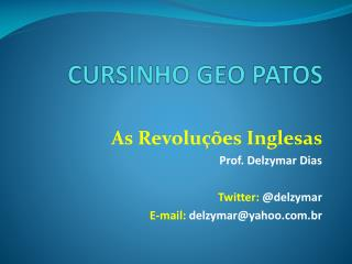 CURSINHO GEO PATOS