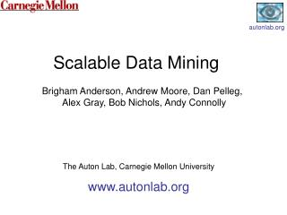 Scalable Data Mining