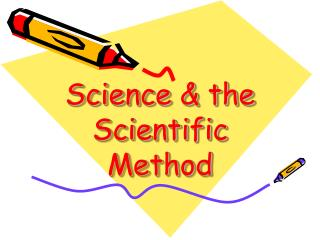 Science & the Scientific Method