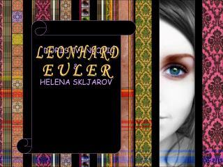 HELENA SKLJAROV