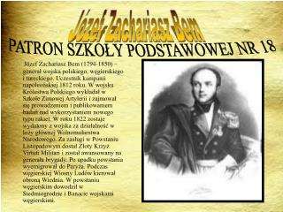 Józef Zachariasz Bem