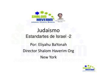 Judaismo Estandartes de Israel -2