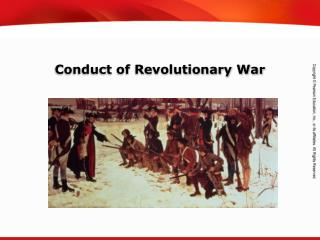 Conduct of Revolutionary War