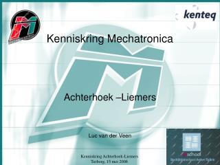 Kenniskring Mechatronica