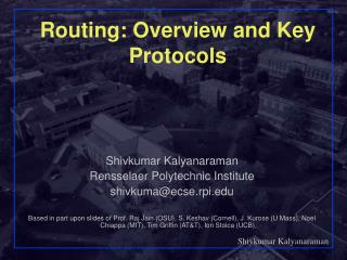 Routing: Overview and Key Protocols