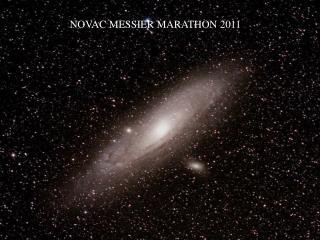 NOVAC MESSIER MARATHON 2011