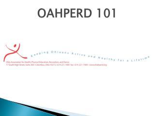 OAHPERD 101