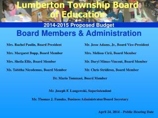 Board Members & Administration