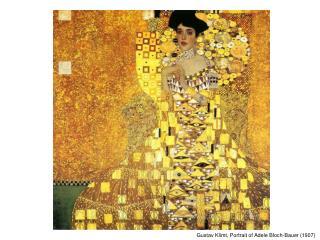 Gustav Klimt, Portrait of Adele Bloch-Bauer (1907)