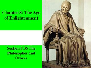 Chapter 8: The Age of Enlightenment