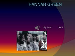 Hannah green