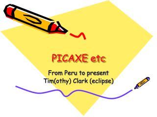 PICAXE etc