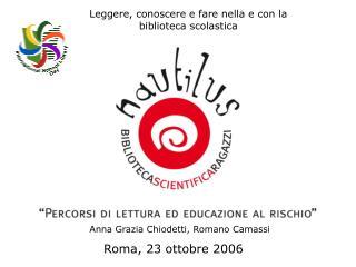 Roma, 23 ottobre 2006