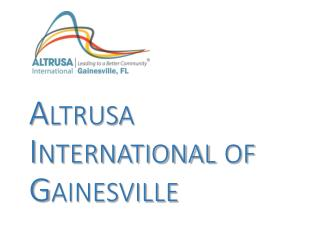 Altrusa   International of  Gainesville