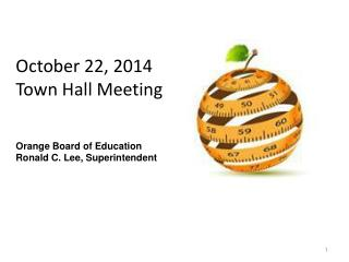 October 22, 2014 Town Hall Meeting