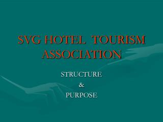 SVG HOTEL  TOURISM ASSOCIATION