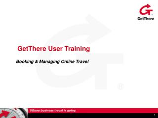GetThere User Training