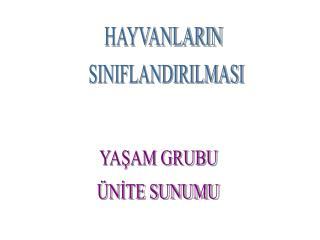 HAYVANLARIN