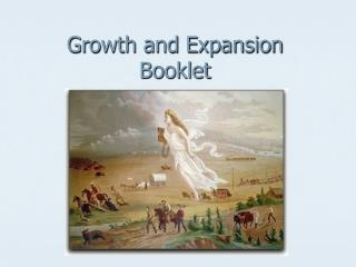 Growth and Expansion Booklet