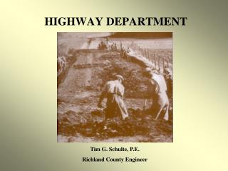 HIGHWAY DEPARTMENT