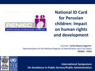 National ID Card for Peruvian children: Impact on human rights and development