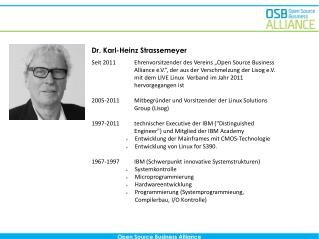 Dr. Karl-Heinz Strassemeyer