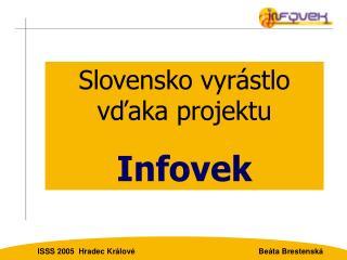 ISSS 2005  Hradec Králové                                                         Beáta Brestenská
