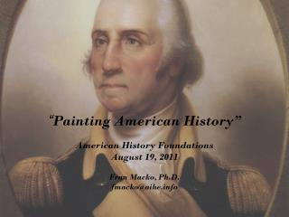 """ Painting American History"""