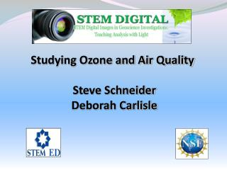 Studying Ozone and Air Quality