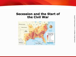 Secession and the Start of  the Civil War