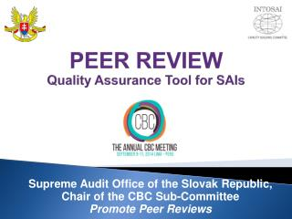 PEER REVIEW Quality Assurance Tool for SAIs