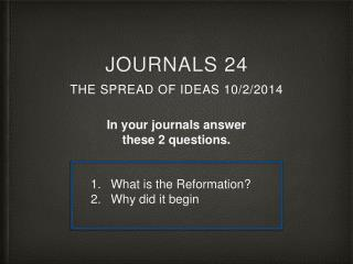 Journals 24