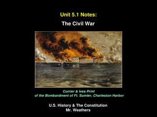Unit 5.1 Notes:
