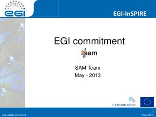 EGI commitment