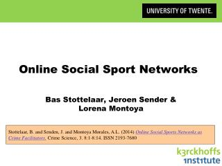 Online Social Sport Networks