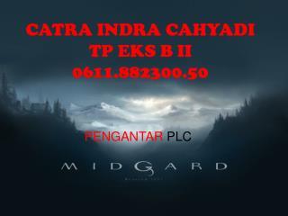 CATRA INDRA CAHYADI TP EKS B II 0611.882300.50