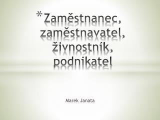 Marek Janata