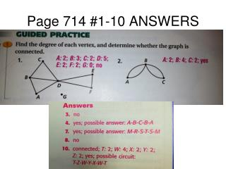 Page 714 #1-10 ANSWERS