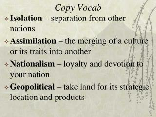 Copy Vocab