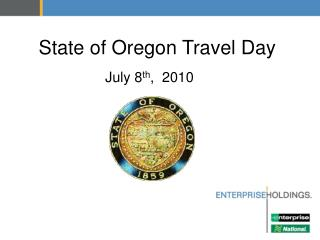 State of Oregon Travel Day