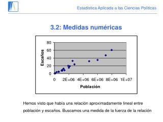 Estadística Aplicada a las Ciencias Políticas