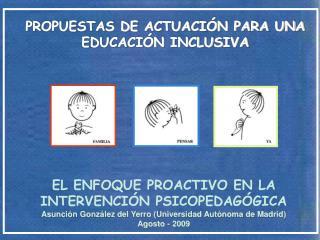 PROPUESTAS DE ACTUACI N PARA UNA EDUCACI N INCLUSIVA